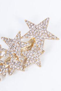 ALINA Gold Diamante Star Cluster Hair Slide
