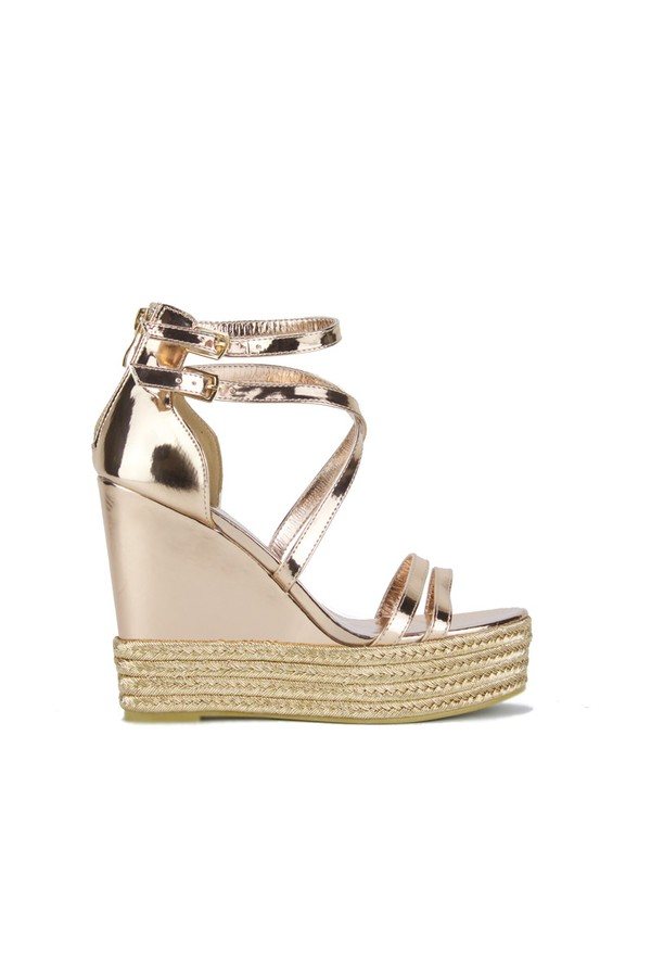 SIA Rose Gold Wedges