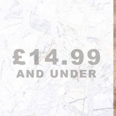 SHOP £14.99 AND UNDER