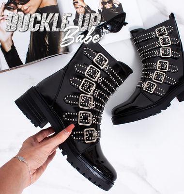 SHOP BUCKLE BOOTS